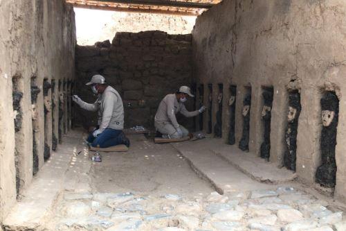 Los ídolos de madera descubiertos en Chan Chan se encuentran en buenas condiciones.
