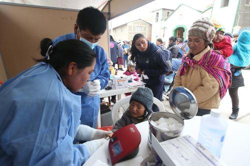El proyecto Sami impulsa lucha contra la anemia infantil en distrito de Antauta, en Puno.