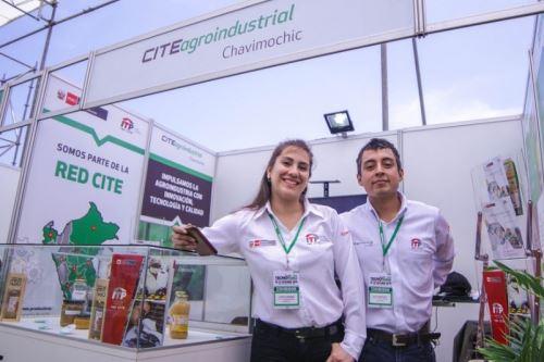 Los CITE presentaron sus productos en Feria Tecnoagro en Trujillo.