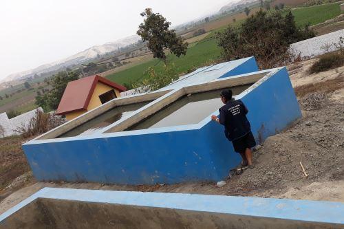 Hay 7,900 pobladores de la zona rural de Chimbote, en Áncash, que consumen agua no apta.