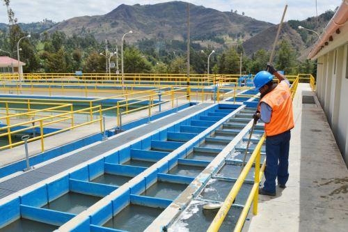 Usuarios accederán a un mejor servicio de agua potable gracias a obras en el sistema de tratamiento de agua potable en la planta El Milagro.