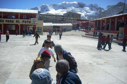 Familias enteras viven en La Rinconada, a más de 5,000 metros de altitud.