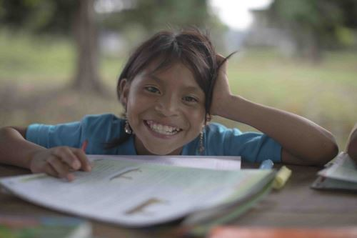 El programa busca reforzar la identidad de los alumnos del Bajo Urubamba.