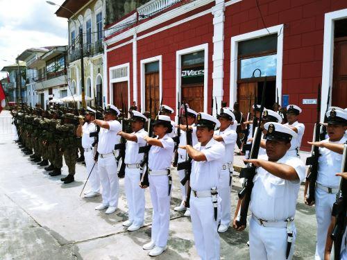 Con gran algarabía se desarrolló ceremonia de lanzamiento de la Agenda Bicentenario en Iquitos.