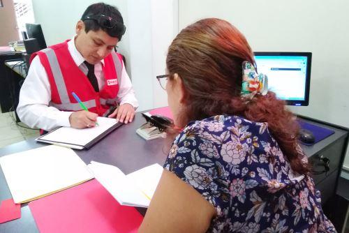 Sunafil realizó un operativo en 12 entidades educativas de Chiclayo.