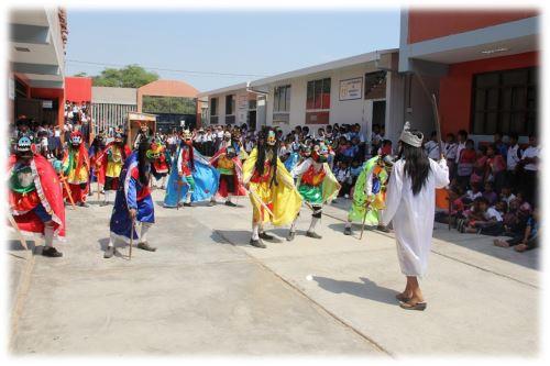 Ancestral danza de los Diablicos de Túcume, declarada Patrimonio Cultural de la Nación, pondrá a bailar a los asistentes.