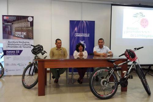 La directora del Museo de Sitio Túcume, Bernarda Delgado, afirmó que se busca diversificar la oferta turística de la región Lambayeque.