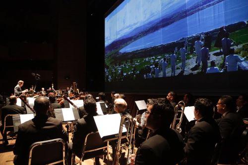 Orquesta Sinfónica Nacional ofreció presentación durante el lanzamiento de la Festividad de la Virgen de la Candelaria 2019, en el Gran Teatro Nacional.