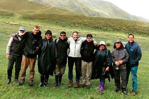 Equipo del proyecto de investigación Cusco-Pata, liderado por Ingemmet, cuenta con la participación de investigadores asociados de Europa.