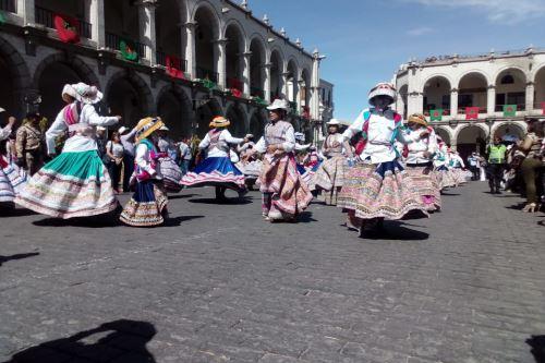 Arequipa celebró tercer aniversario de declaratoria de la danza del wititi como Patrimonio Cultural Inmaterial de la Humanidad.