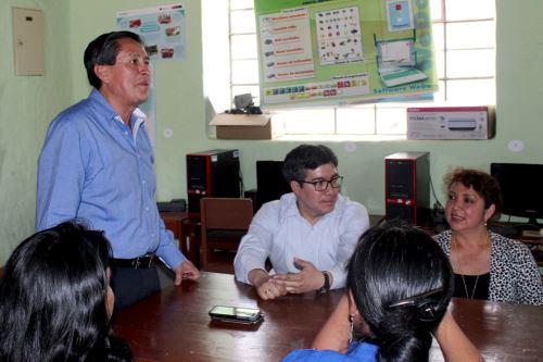 El último sábado, el alcalde electo de Cajamarca, Andrés Villar, se reunió con el extinto burgomaestre electo Manuel Vigo.