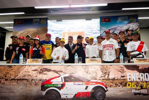 Más de 500 competidores participarán del Rally Dakar 2019 que se desarrollará íntegramente en el Perú.