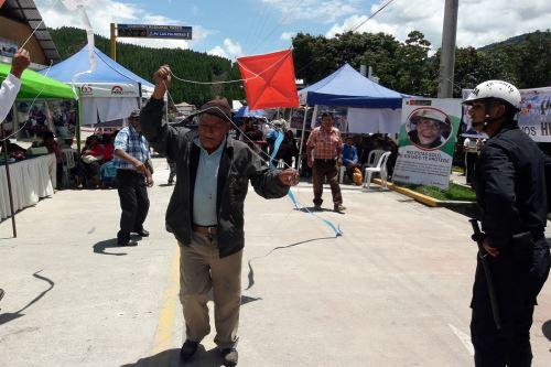 En Huancabamba, provincia de Oxapampa, se desarrolló Encuentro de Saberes Productivos.