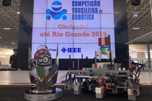 La Competencia Latinoamericana de Robótica se desarrolló en Brasil.