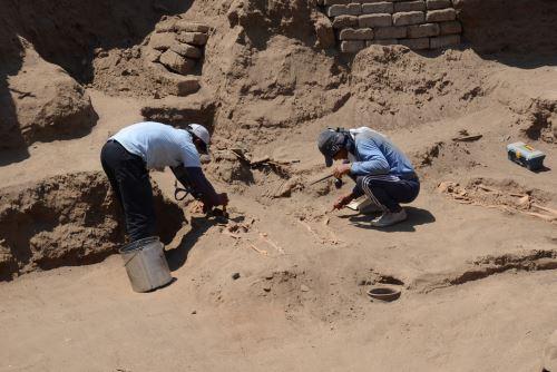 El complejo arqueológico El Chorro está ubicado en el distrito chiclayano de Pomalca.