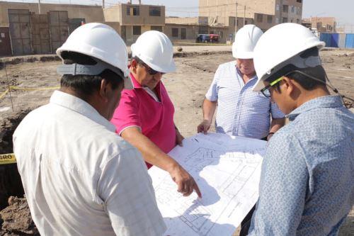 El gobernador regional de Lambayeque, Humberto Acuña, resaltó que en un terreno de 2,000 metros cuadrados se construye complejo policial de la familia.