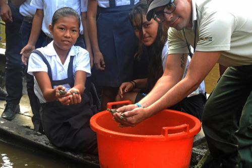 Iniciativa busca generar conciencia ambiental entre la población local.