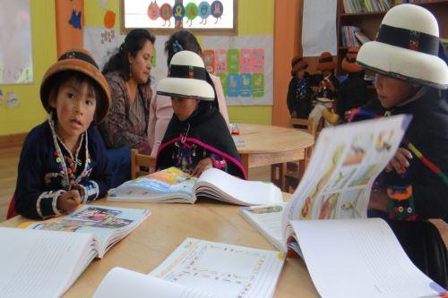 Apurímac invirtió S/ 13 millones para mejorar la calidad del servicio educativo de la región.