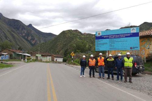 Eje vial conecta al Callejón de Huaylas con la zona de Los Conchucos.