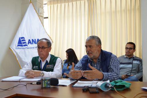 Jefe de la ANA, Walter Obando, ofreció conferencia para detallar trabajo desarrollado en la zona afectada por relave minero en Hualgayoc.