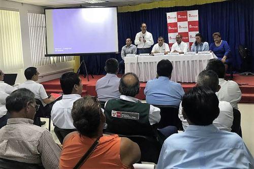 Edgar Quispe se reunió con autoridades regionales y locales de Tumbes.