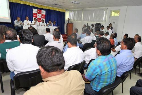 Director Ejecutivo de la Autoridad para la Reconstrucción con Cambios informó de Plan Integral para el control de inundaciones.