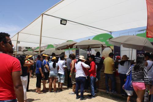 La Feria Perú, Mucho Gusto Ilo, fue una de las actividades conexas que se desarrolló con el Rally.