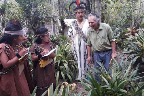 El orquideario de don Máximo está ubicado en la comunidad nativa Yanesha Tsachopen, que forma parte de la Reserva Biosfera Oxapampa-Asháninka Yanesha.