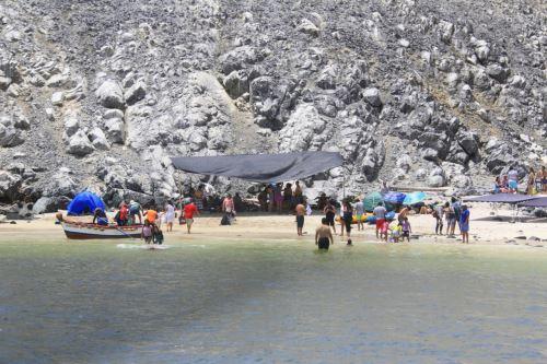 La playa Las Conchuelas es visitada desde hace un par de años.
