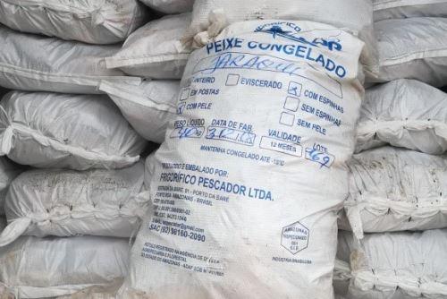 Productos pesqueros, de procedencia brasileña, habrían ingresado de forma ilegal.