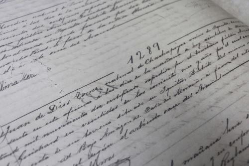 El Tomo I del Libro Diario Regional reúne 349 folios que se conservan en perfecto estado.