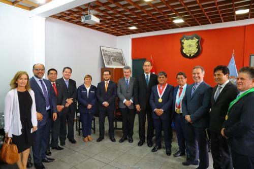 Presidente Martín Vizcarra encabezó ceremonia de lanzamiento de la Marca Ayacucho.
