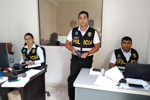 El responsable de la oficina de Interpol en Lambayeque, suboficial de segunda de la PNP Atilano Villalobos, sostuvo que se ha agilizado la atención.