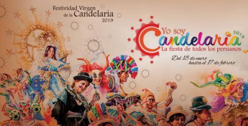 Puno exhibirá afiches alusivos a la Festividad de la Virgen de la Candelaria.
