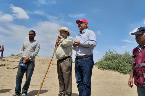El Programa de Investigación Arqueológica Valle de Zaña, Walter Alva, solicitó más recursos para continuar con la investigación en esa zona.