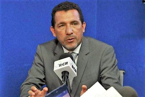 Director general de Ganadería del Ministerio de Agricultura y Riego, Christian Barrantes.