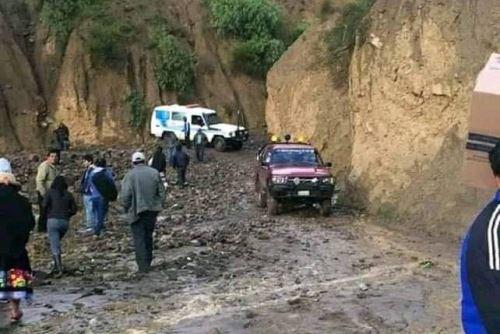 Se evacuará a las familias de las zonas declaradas en riesgo en Pomabamba.