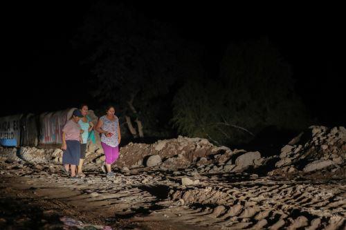 Son cientos los pobladores damnificados y afectados por los desastres naturales en Arequipa.