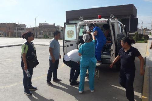 Los más afectados fueron fueron atendidos en el Hospital Regional de Lambayeque.