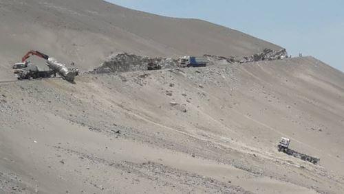 Otro accidente de tránsito, sin consecuencias fatales, ocurrió en la Panamericana Sur, en Arequipa.