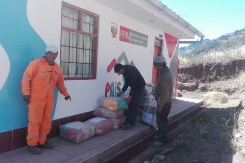 El Midis ha puesto a disposición 22 tambos en las regiones de Arequipa, Moquegua y Tacna.
