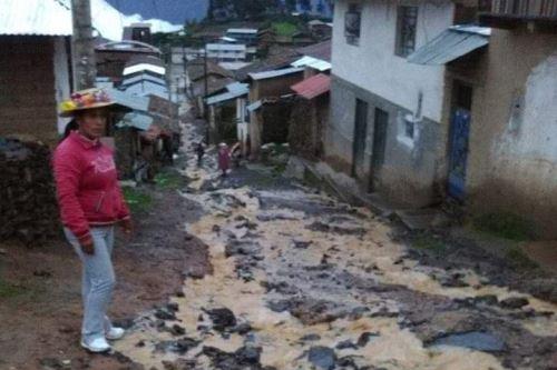 Las lluvias intensas provocaron huaicos y deslizamientos que afectaron poblados de Áncash.