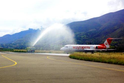 Vuelo inaugural de aerolínea se efectuó el jueves 14 de febrero.