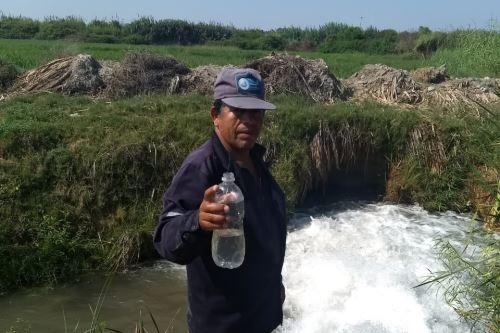 La crecida del río Pisco afectó la infraestructura de la planta de tratamiento de agua y restringió el servicio en la ciudad de Pisco.