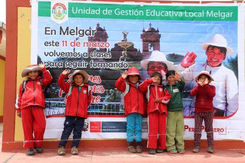 Los 57 tambos de la región Puno brindaron diversas atenciones sociales a los escolares, informó el Midis.