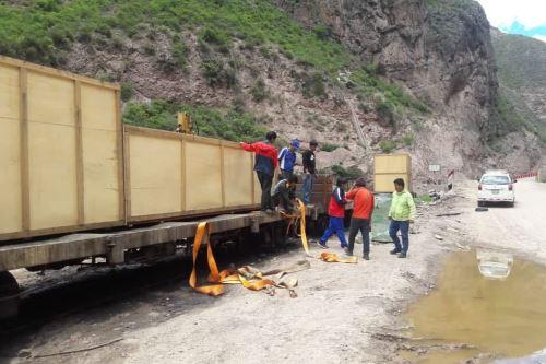 La máquina pirolizadora ya se encuentra en Machu Picchu Pueblo y empezará a operar en abril.