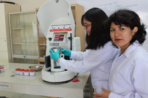 Pamela Tupayachy, docente del Departamento de Ingeniería Industrial de la UCSP, lideró el equipo de investigadores que creó los adoquines con ceniza volcánica.