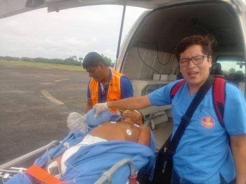 Los vuelos permiten salvar vida de pacientes que requieren atención especializada.