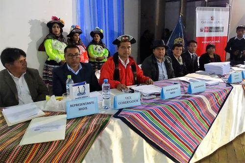 Autoridades de Huancavelica unirán esfuerzos en favor de la primera infancia.