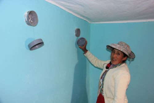 Las viviendas están acondicionadas para reducir el impacto de las bajas temperaturas.